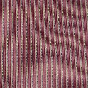 DKNY Mens Necktie Red Gold Striped Tie